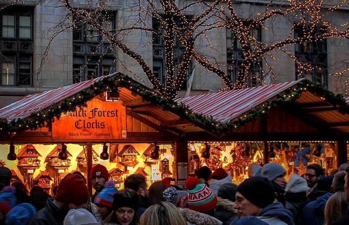 Jo da, det finnes glimrende julemarkeder utenfor Europa – ikke minst Christkindlmarket her i Chicago