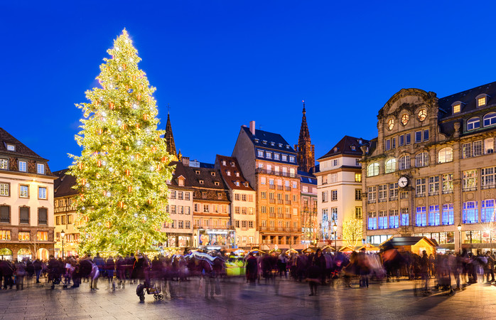 Franskmennene kan dette med å stelle i stand et alle tiders julemarked