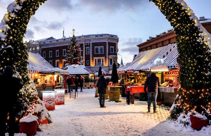 Rigas julemarked ligger på et UNESCO-verdensarvsted