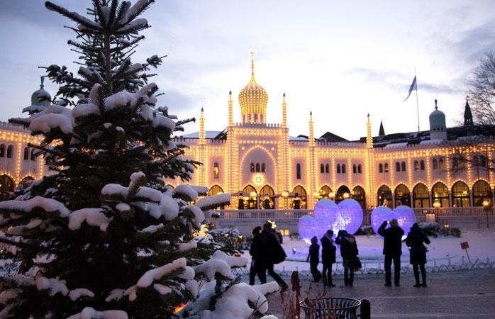 Tivoli – sjarm og idyll på et av Københavns beste julemarkeder